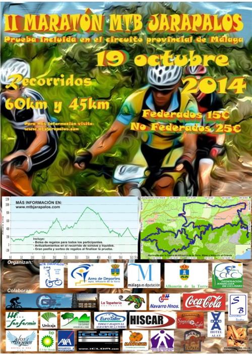 Cartel II Maratón MTB Jarapalos