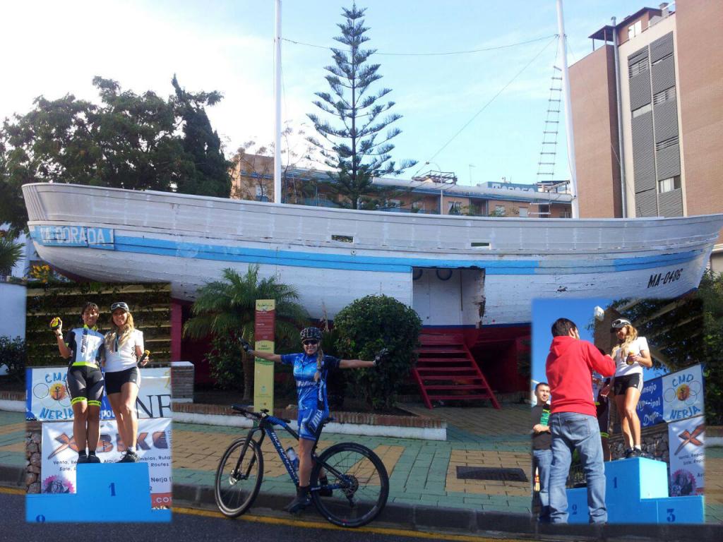 Fabiola, vencedora en la I Maratón Villa de Nerja