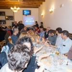 Comida navideña del Club MTBMálaga, celebrada en Málaga, el 13 de diciembre de 2014