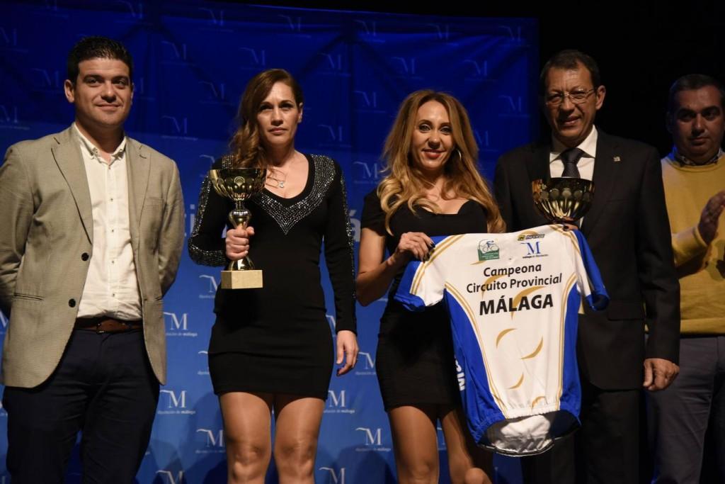 Fabiola en la Gala del Ciclismo